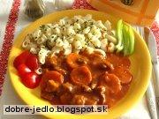 Dusené bravčové s mrkvou - recept