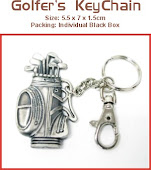 CENTRUM LINK - GOLFER KEY CHAIN