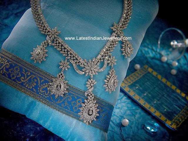 Designer Diamond Necklace Designs