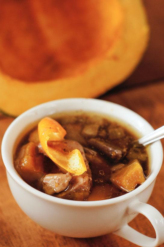 Supsquash Soup | thumb in plum