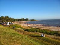 Imagenes de paisajes  playa Atlantida Uruguay
