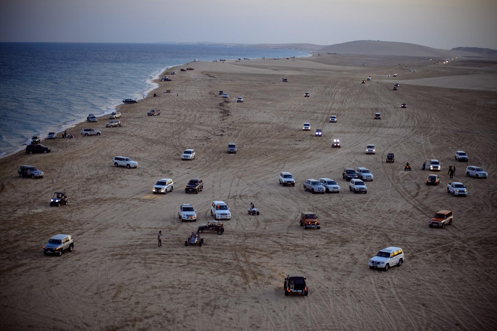 Mesaieed Qatar  city pictures gallery : Arjunpuri in Qatar: Mesaieed Beach in Qatar