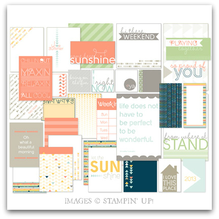 Chillin' Out Pocket Cards - Digital Download by Stampin' Up!