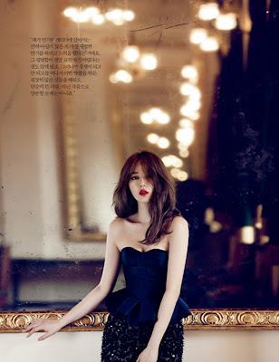 Yoon Eun Hye - Harper's Bazaar Magazine June Issue 2013