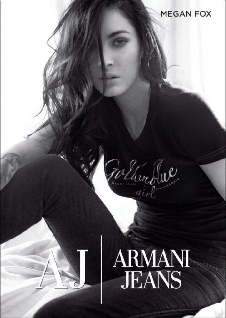 megan fox armani jeans 2011. Megan Fox-Armani 2011 Campaign
