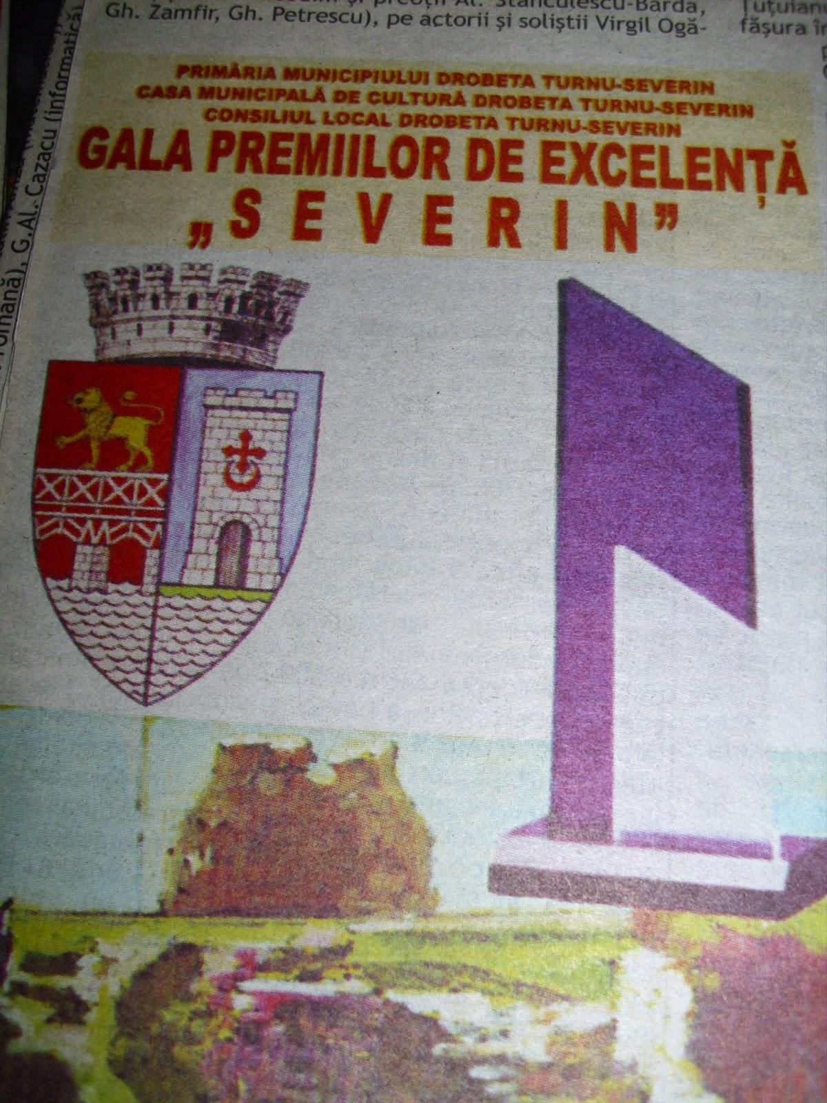 Gala Premiilor de Excelenţă, 2012, Severin