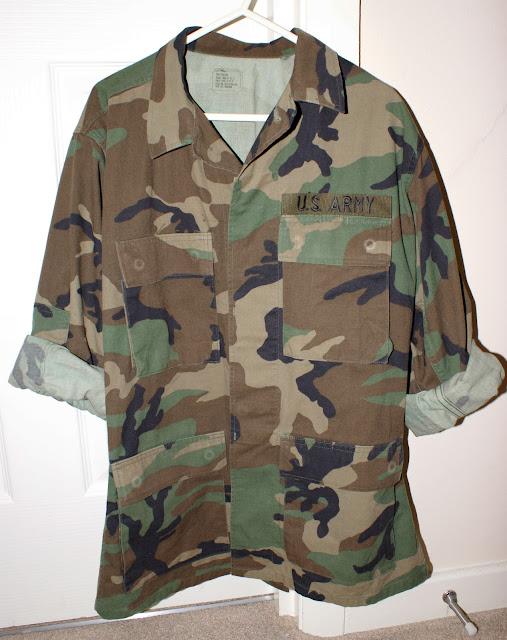 Vintage Camo Shirt