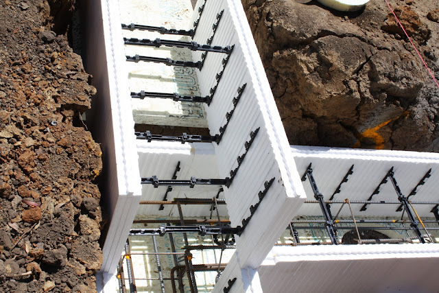 Footing Formwork The New Zealand S First Passive House