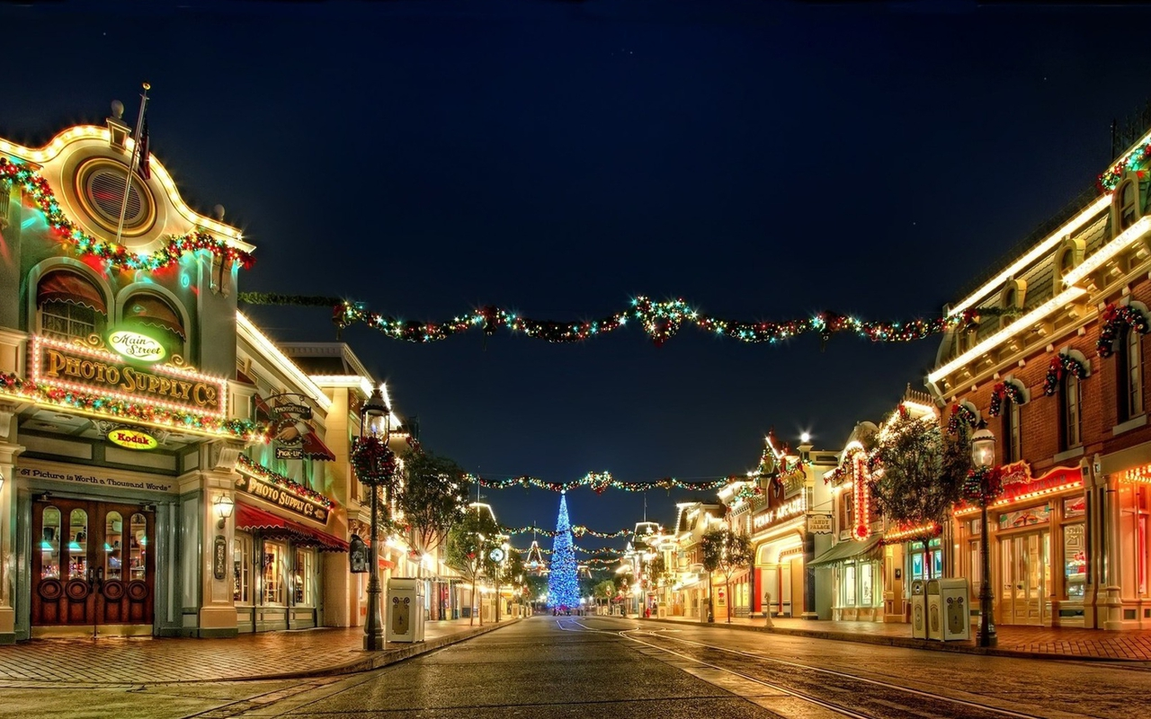 Best Resolution Wallpaper: Christmas Scenery