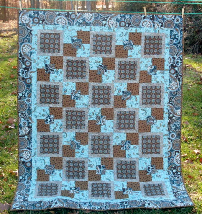 Patches And Pieces: Buck A Block, Layer Cake and 5 Yards : 5 yard quilt patterns - Adamdwight.com