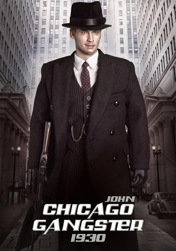 Incoming DID 16 Scale 1930s Chicago Gangster Is Johnny