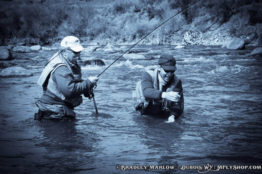 Dubois wy fly fishing trips guided fly fishing outfitters for Fishing in the wind