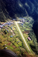 Piste Aéroport de Lukla Népal