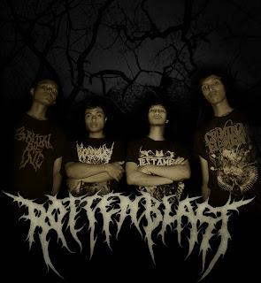 rottenblast band death metal malang | http://musik-bawah-tanah.blogspot.com