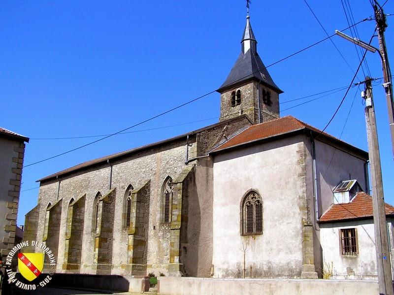 SAINT-CLEMENT (54) - Eglise Saint-Clément