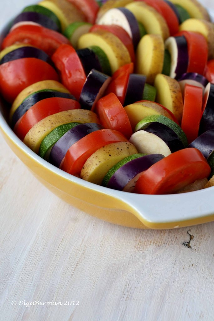 Mango & Tomato: Barefoot Contessa's Vegetable Tian