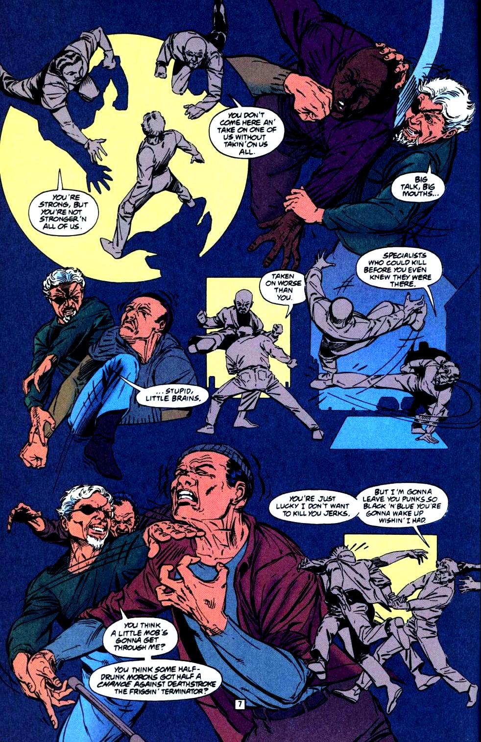 Deathstroke (1991) Issue #35 #40 - English 8