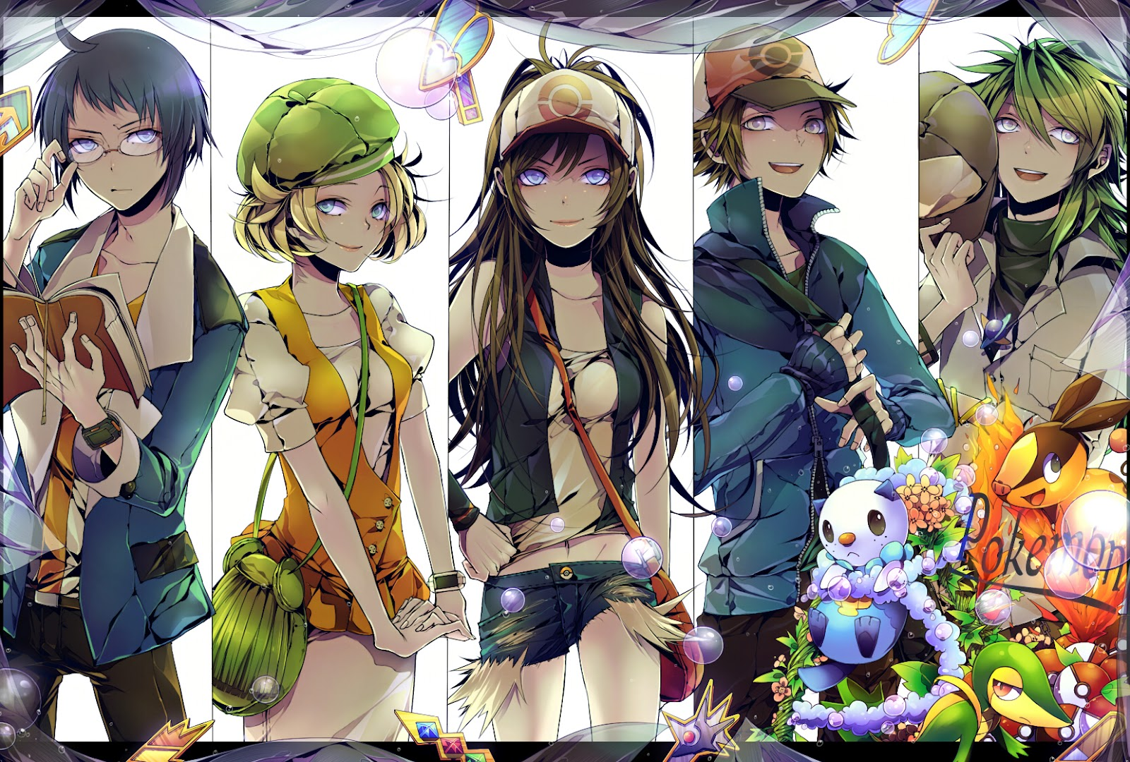 Pokemon Black Anime