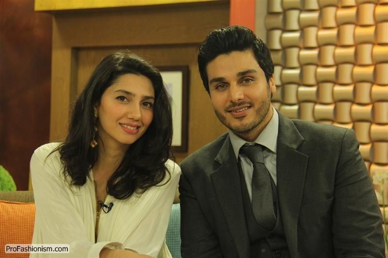 Mahira Khan with Ahsan Khan Pictures