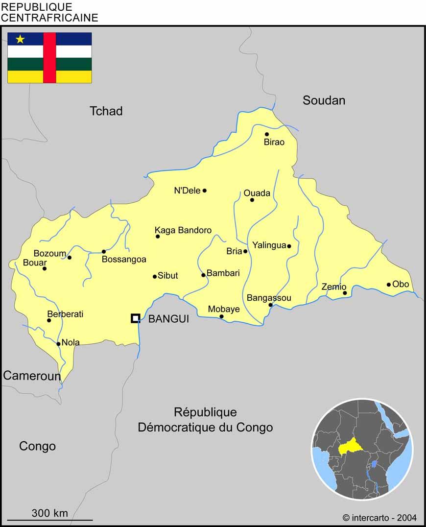 Géographie de la République Centrafricaine