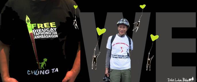 Từ ngục tối, Điếu Cày kêu gọi làm 'sinh nhật lớn' cho CLB Nhà Báo Tự Do