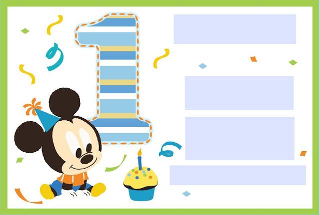 La super mamy semana de cumples mickey mouse beb - Cumpleanos de bebes ...
