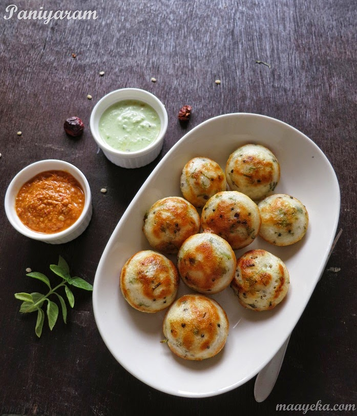 how to make chittinad kuzhi paniyaram