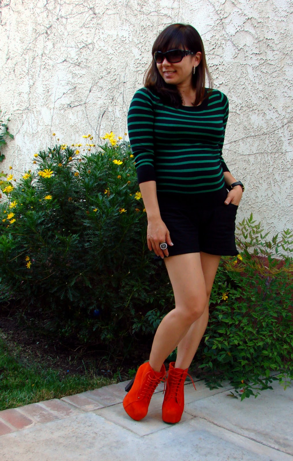 Spinning Threads: Sweaters with Shorts and White After Labor Day