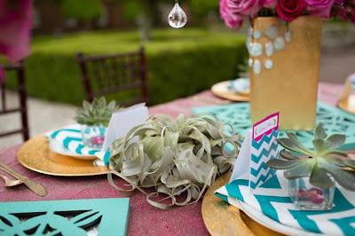 decoracion bonita para mesas boda