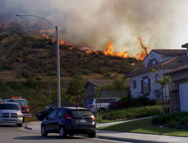 menifee bell mountain fire