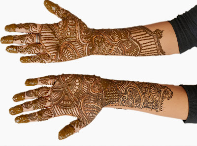 Rajasthani Henna Mehendi Designs, Bridal Henna Designs for Women
