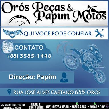 ORÓS PEÇAS & PAPIM MOTOS