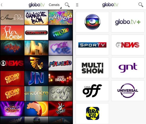 Globo.TV chega ao Android
