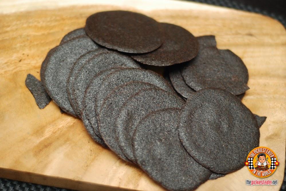 chocolate crisps