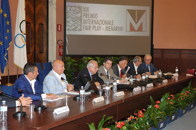 Premio internazionale Fair Play 2015