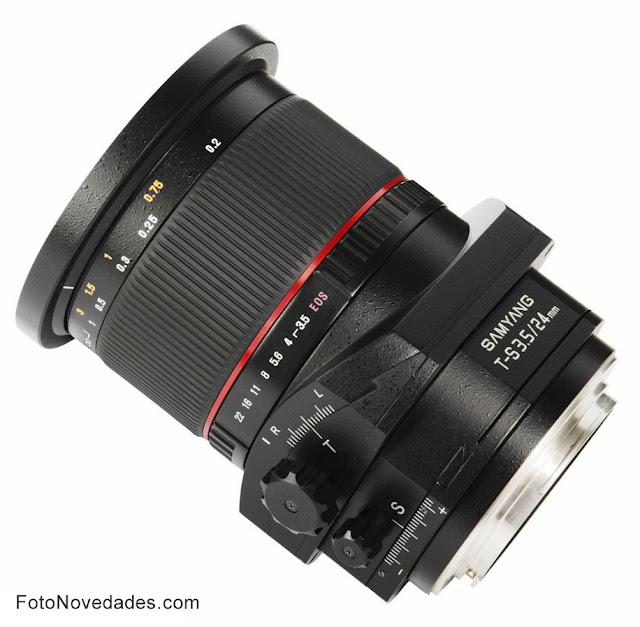 Samyang T-S 24mm f/3.5 ED AS UMC , tilt-shift, lente Samyang, marzo 2012
