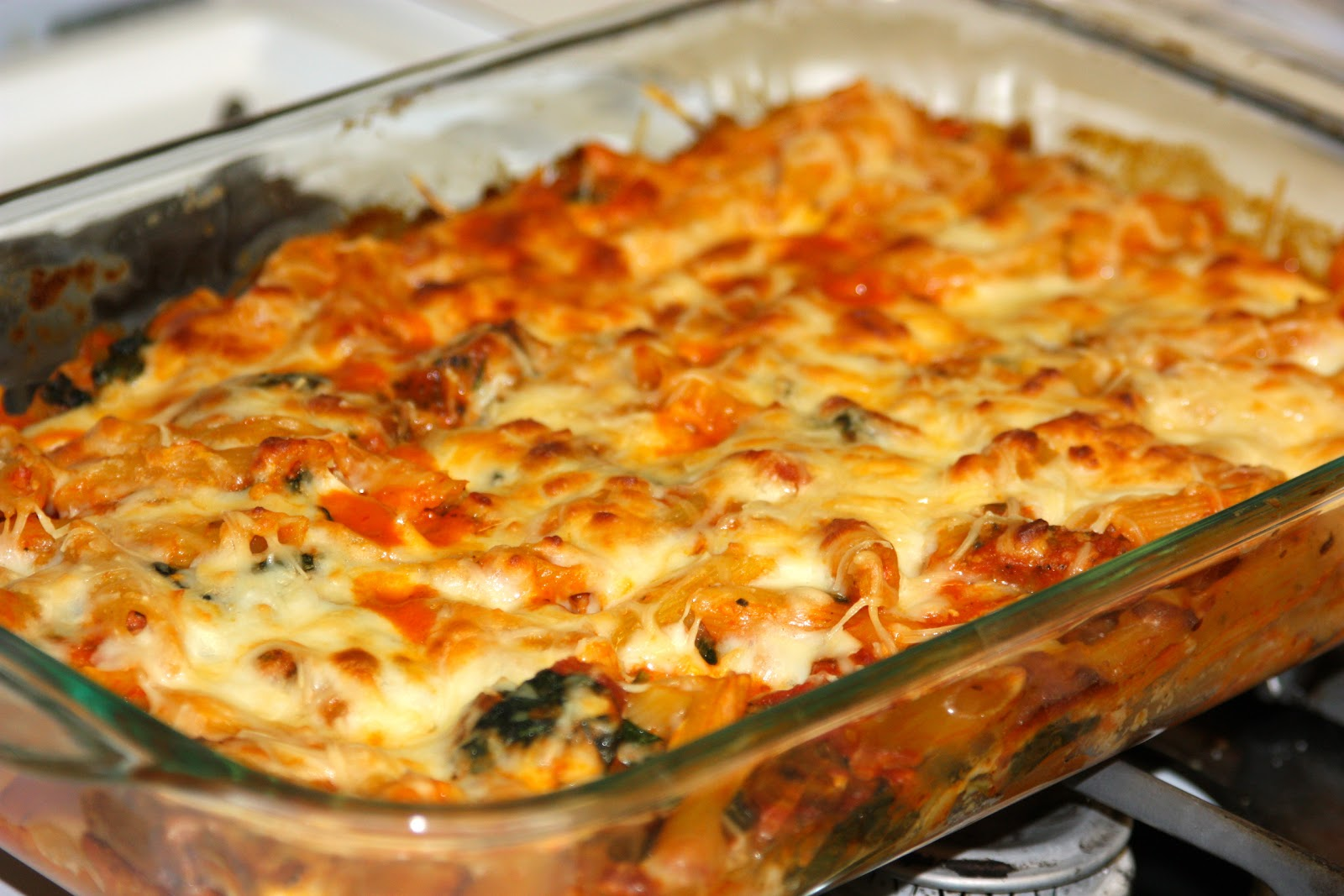 My Recipe Box: Baked Pasta with Chicken Sausage