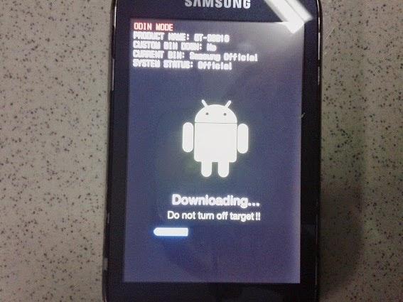 Cara Flashing Samsung Galaxy Fame GT-S6810 Ulfandroid