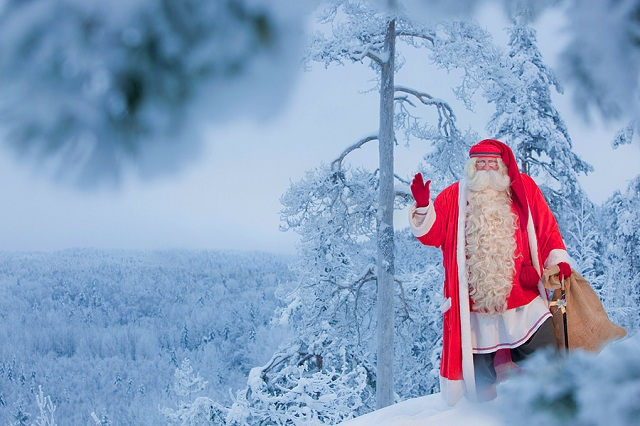 photos of santa claus