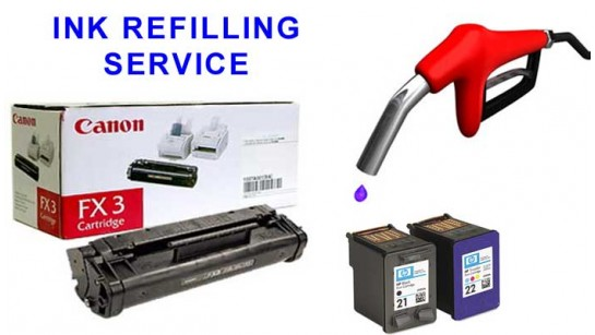 Cartridges Refilling Service