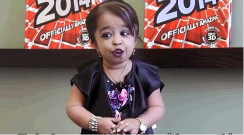 Jyoti Amge,World Shortest Woman,Smallest Female in Universe,Newyork City,Guinness BooK Records