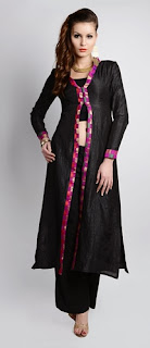 Front Open Kameez and Palazzo