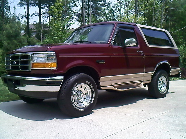 Ford Bronco Owners Manual 1996 Free Download Repair