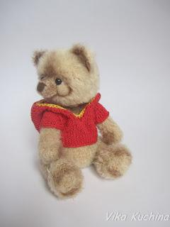 Мишка Тедди, авторская игрушка