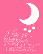 I Love You to the Moon and Back! I love you to the moon and back! (love you)