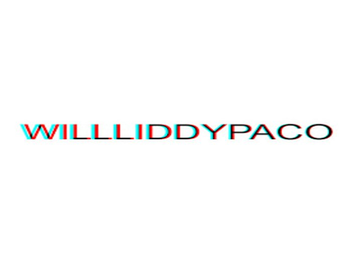 I am Will. Liddy.Paco