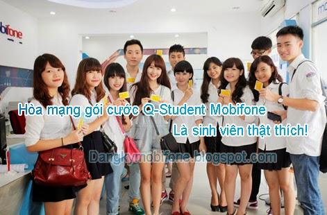 Gói cước Q-Student Mobifone cho sinh viên