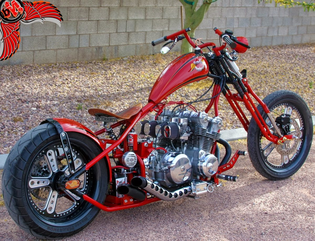 Terry Lee Honda >> Moto Custom: Honda CB 750 Chopper
