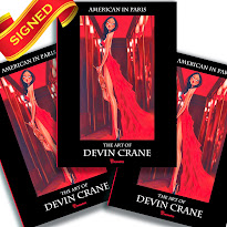 BUY A SIGNED COPY OF MY BOOK! THE ART OF DEVIN CRANE