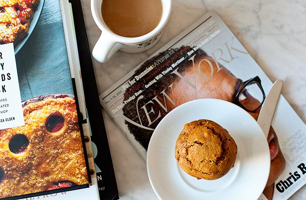 pumpkin hazelnut muffins